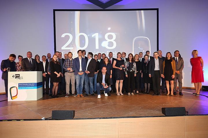 Nominiert für den Ernst-Schneider-Preis 2018
